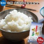 お米 10kg 送料無料 無洗米 吟精 新潟産コシヒカリ 10kg(5kg×2) 令和元年産