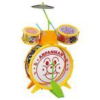 アンパンマン うちの子天才 おおきなドラムセット 新品   知育玩具 おもちゃ