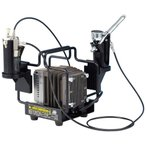 Mr.リニアコンプレッサー L5/エアブラシセット PS321 新品  GSIクレオス エアーブラシシステム (弊社ステッカー付)