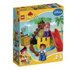 ジェイクとネバーランドのかいぞくたちジェイクと宝島 10604 新品レゴ デュプロ   LEGO 知育玩具 弊社ステッカー付