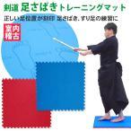 剣道 足さばき トレーニングマット【自宅 稽古 剣道具 トレーニング】518-K00068
