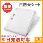 【輸入品】白防炎シート 寸法 1.8m×5.1m 建築工事養生用