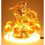 ドラゴンボール 激レア 海外限定 神龍 シェンロン フィギュア LED 特製アクリル スタンド 照明 ナイト ライト ランプ USBケーブル 金色