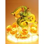 ドラゴンボール 激レア 海外限定 神龍 シェンロン フィギュア LED 特製アクリル スタンド 照明 ナイト ライト ランプ USBケーブル
