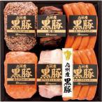 送料無料 南日本ハム 九州産黒豚6本詰ギフト(NO-50) *メーカー直送品 冷蔵便でお届け***
