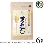48%減塩 手火山造り 鮭ぶし入りかつおふりだし 49g(7g×7P)×6袋 美味香 北海道 人気 だしパック 化学調味料不使用 送料無料