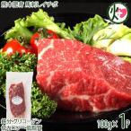 熊本肥育 馬刺しイチボ 100g×1P フジチク タレ・生姜付き 熊本県 土産 人気 馬肉 刺身 ご自宅用に 贈り物に 送料無料