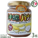 手作りジャム バナナ ココナッツミルク 黒糖入り 140g×3瓶 ぎのざジャム 沖縄 フルーツ 珍しい 林修の今でしょ講座 黒糖 ミネラル ビタミン 送料無料