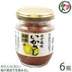 ゆず風味いかさし 150g×6瓶 株式会社はるか 北海道 土産 人気 しおから 国内産するめいか使用 タウリン ビタミン 条件付き送料無料
