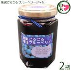 果実ごろごろ 愛荘ブルーベリージャム 150g×2瓶 あいしょうアグリ 滋賀県産ブルーベリー使用 無添加 保存料不使用 条件付き送料無料