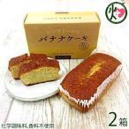 バナナケーキ (箱入)×2箱 モンテドール 海外にもファンのいる人気商品 沖縄 パウンドケーキ  送料無料