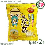なんじぃ 徳用サイズ さんぴん茶 ティーバッグ 5g×50P×2袋 ジャスミンティー  送料無料