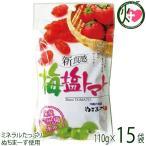 梅塩トマト 120g×15P 送料無料 夏バテ・熱中症対策に リコピン
