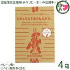 国産落花生使用 おうちでつくる「じーまーみ豆腐」セット×4箱 琉球うりずん物産 沖縄 土産 手作りキット オレイン酸・リノイン酸を多く含む 送料無料