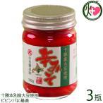 ギフト 無添加 辛みそ120g×3瓶 渋谷醸造 北海道 人気 土産 調味料 みそ キムチ ビビンバ゛ 焼肉に 最適 十勝本別産大豆使用 条件付き送料無料