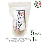 なでしこの自己発酵 生・黒にんにく 6玉入り なでしこの自然食品 大阪 人気 無添加 黒ニンニク ポリフェノール S−アリルシステイン 送料無料