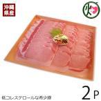 ギフト 沖縄県産ブランド肉 でいご豚 ロース しゃぶしゃぶ 500g×2P 上原ミート 豚肉 三元豚 焼肉 ビタミンB1 アミノ酸 コラーゲン 送料無料