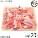 ギフト あぐー 切り落とし 500g×20P JAおきなわ 上原ミート 沖縄県産 豚肉 ロース バラ モモ しゃぶしゃぶ ビタミンB1豊富 送料無料