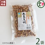 大豆黒糖 (加工) 140g×2袋 沖縄 人気 土産 定番 お菓子  林修の今でしょ 講座 おやつ 黒糖 送料無料