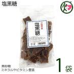 塩黒糖 (加工) 140g×1袋 わかまつどう製菓 沖縄 人気 土産 定番 お菓子 送料無料