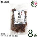 塩黒糖 (加工) 140g×8袋 わかまつどう製菓 沖縄 人気 土産 定番 お菓子  送料無料