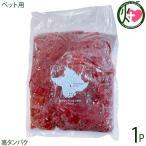 ペット用 鹿肉 ミンチ 500g×1P 泰阜村ジビエ加工組合 長野県 土産 ペットフード 南信州産 シカ肉 低脂肪の鹿肉は最高のごちそう 高タンパク 条件付き送料無料