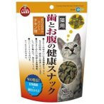 マルカン [限定特価] 歯とお腹の健康スナック ミント入りチキン味 [CT-54] (猫おやつ)