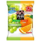 ぷるんと蒟蒻 マスカット+オレンジ 12個入