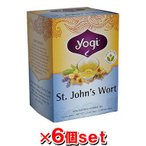 YOGI TEA ヨギティー セントジョーンズワートティー 16袋x6個