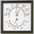 タニタ 温度計 オフィスキング 5485 ブラウン