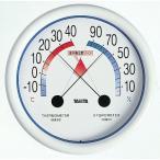 タニタ 温度計 食中毒注意ゾーン付温湿度計 5488 Nホワイト