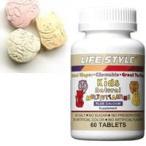 Yahoo!ケンコーエクスプレスLIFE STYLE(ライフスタイル) 子供用マルチビタミン 60粒入[タブレット][エープライム][サプリメント][Multi Vitamin & Mineral][KIDS][キッズ]