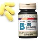 Yahoo!ケンコーエクスプレスLIFE STYLE(ライフスタイル) ビタミンB-50コンプレックス 60粒入[タブレット][エープライム][サプリメント][B群]