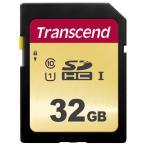 即配 (KT) トランセンド SDHCメモリカード 32GB : TS32GSDC500S UHS-I U1 MLC ネコポス便