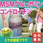 【送料無料】フシブシに必要なグルコサミン、コンドロイチン、コラーゲンなどがたっぷり!MSM入グルコサミン