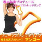 エクササイズ ダイエット ストレッチ 美容 健康 ウェーブストレッチリング ソフトタイプ マンゴー MAKIスポーツ 正規品