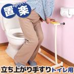 立ち上がり補助 介護用 置楽 おきらく 立ち上がり手すり 補助用手すり(トイレ用)