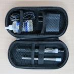 電子たばこ 社長のたばこ スターター6点セット アトマイザー、バッテリー、充電器、アロマリキッド30mL+新スマートタバコ1本+専用ケース(パープル)