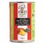 ella's organic 有機パイナップル缶 [400g(固形量230g)] 【アスプルンド】