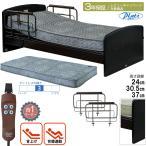 電動介護ベッド 介護むけ 介護ベッド プラッツ 1モーター ケアレットネオアルファ2  サイドレール付き(手すり・柵) P201-1KEA-PM04