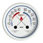 介護雑貨・生活支援用品 食中毒注意ゾーン付 温湿度計 5488(Nホワイト) タニタ・UL-300535