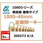 ALPHA евеые╒еб╞ю╡■╛√ 1000-40mm ─ъ╚╓╞▒░ьенб╝TO No.30E073б╩┼ь╡■е╩еєе╨б╝╞▒░ьенб╝б╦евеые╒еб╞ю╡■╛√╔╕╜ре┐еде╫1000е╖еъб╝е║