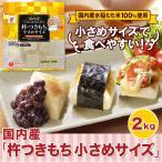 お餅 餅 国内産「杵つきもち小さめサイズ」2kg
