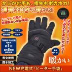 手袋 グローブ 暖かい NEW充電式「ヒーター手袋」