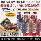 国産さば使用「美味しいサバ缶」48缶セット