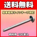 グラス・ファイバー工研 駐車場用ラインテープ用釘 ブーブー釘 砂利用 100本 BBNP-100