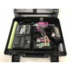 ショッピングバッテリー 日立工機 コードレスインパクトドライバー WH18DDL2(LYCK)レッド 18V リチウムイオン電池BSL1860・BSL36A18 各1個 計2個付
