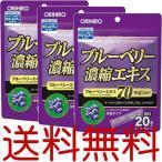 ショッピングアウトレット 【アウトレット/3個セット】ブルーベリー濃縮エキス顆粒 1.5g×20包 オリヒロ 送料無料 訳あり わけあり