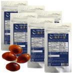 DHA EPA サプリ 海洋の宝×6個お得セット DHA EPAはオメガ3脂肪酸 深海鮫肝油とDHA フィッシュオイル DHAとクリルオイル dhaとハープシーオイル