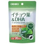 イチョウ葉&DHA 60粒 オリヒロ
